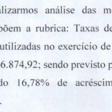 Resposta da PMSCS sobre Taxa de Poder de Polícia